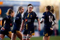 Elizabeth Shermer of Worcester Warriors Women - Mandatory by-line: Robbie Stephenson/JMP - 01/12/2019 - RUGBY - Sixways Stadium - Worcester, England - Worcester Warriors Women v Bristol Bears Women - Tyrrells Premier 15s