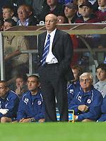 Photo: Dave Linney.<br />Aston Villa v Reading. The Barclays Premiership. 23/08/2006.Reading Boss Steve Coppell