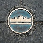 Budapest, Hungary manhole cover
