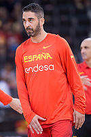 Spain's Juan Carlos Navarro during friendly match for the preparation for Eurobasket 2017 between Spain and Venezuela at Madrid Arena in Madrid, Spain August 15, 2017. (ALTERPHOTOS/Borja B.Hojas)