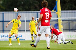 Zeni Husmani #90 of NK Domzale during 2nd Leg football match between FC Valur Reykjavik and NK Domzale in 2nd Qualifying Round of UEFA Europa League 2017/18, on July 20, 2017 in Domzale, Slovenia. Photo by Grega Valancic / Sportida