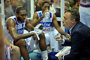 DESCRIZIONE : Brindisi A 2012-13 Enel Brindisi Scavolini Pesaro<br /> GIOCATORE : Time Out Enel Brindisi<br /> CATEGORIA : Time Out<br /> SQUADRA : Enel Brindisi <br /> EVENTO : Campionato Lega A 2012-2013 <br /> GARA : Enel Brindisi Scavolini Pesaro<br /> DATA : 11/11/2012<br /> SPORT : Pallacanestro <br /> AUTORE : Agenzia Ciamillo-Castoria/V.Tasco<br /> Galleria : Lega Basket A 2012-2013  <br /> Fotonotizia : Brindisi Lega A 2012-13 Enel Brindisi Scavolini Pesaro<br /> Predefinita :