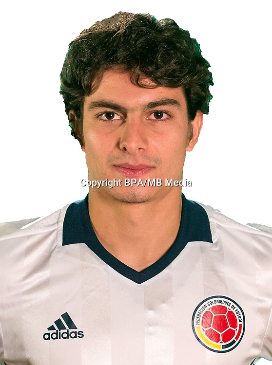 Conmebol - World Cup Fifa Russia 2018 Qualifier / <br /> Colombia National Team - Preview Set - <br /> Stefan Medina