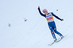 20.03.2015, Planica, Ratece, SLO, FIS Weltcup Ski Sprung, Planica, Finale, Skifliegen, im Bild Severin Freund (GER) //during the Ski Flying Individual Competition of the FIS Ski jumping Worldcup Cup finals at Planica in Ratece, Slovenia on 2015/03/20. EXPA Pictures © 2015, PhotoCredit: EXPA/ JFK