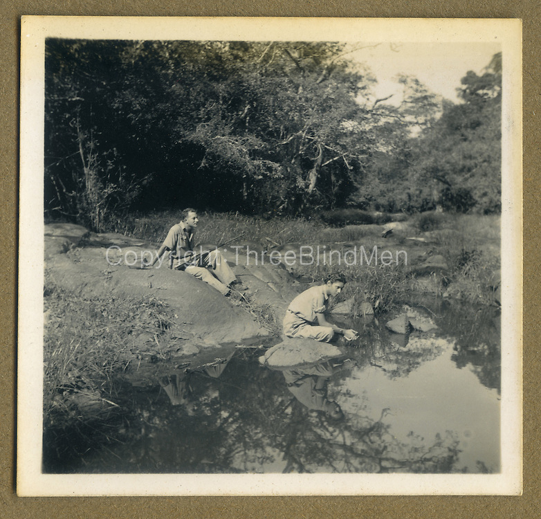 Cecil Jonklaas and Christine.<br /> from Dr. R.L. Spittel photograph albums.