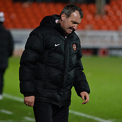 Dundee United manager Csaba Laszlo after the Scottish Championship match between Dundee United and Greenock Morton at Tannadice, which the visitors won.<br /> <br /> (c) Dave Johnston | sportPix.org.uk