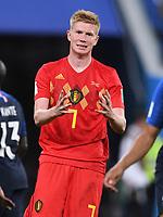 FUSSBALL  WM 2018  Halbfinale  ------- Frankreich - Belgien     10.07.2018 Kevin De Bruyne (Belgien)