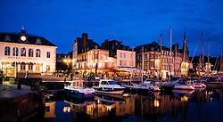 Honfleur, Normandy, France - evening