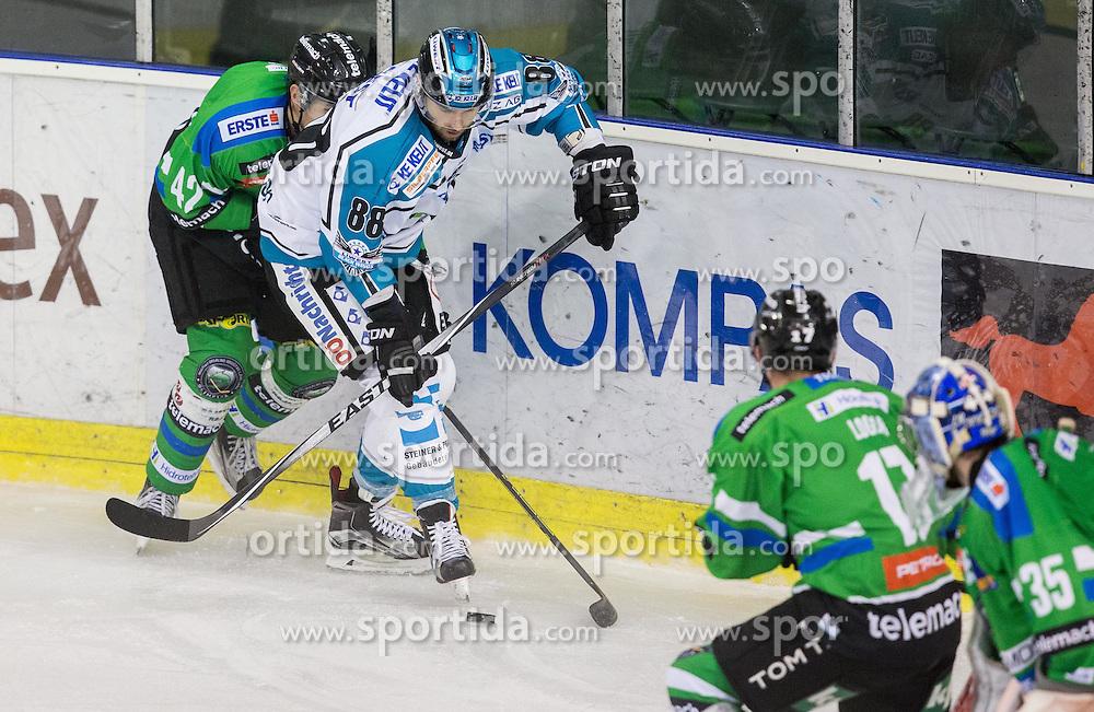 Kristof Reinthaler (HDD Olimpija), Dan Dasilva (Black Wings Linz)
