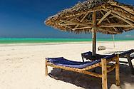 an inviting tropical beach near Paje, Zanzibar, Tanzania