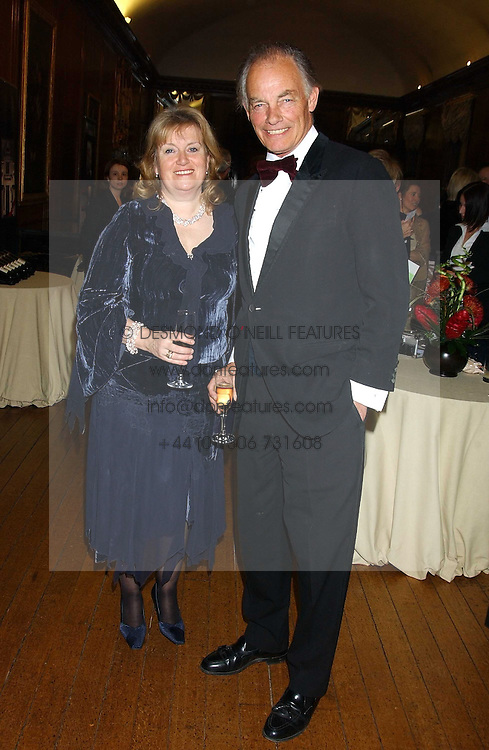 The MARQUESS & MARCHIONESS OF READING at a fundraising dinner in aid of the Hoedspruit Endangered Species Foundation in the presence of TRH Rrince & Princess Michael of Kent at Kensington Palace, London on 2nd March 2006.<br />