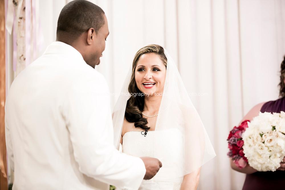 5/21/13 9:38:23 AM .The wedding of April and Sakou on Windy City Live... . © Todd Rosenberg Photography 2013