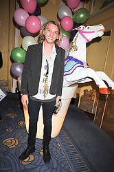 Actor JAMIE CAMPBELL BOWER at a party hosted by Mulberry during London fashion Week 2009 at Claridge's Hotel, Brook Street, London on 20th September 2009.
