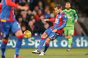 Crystal Palace midfielder Yohan Cabaye  during the Barclays Premier League match between Crystal Palace and Sunderland at Selhurst Park, London, England on 23 November 2015. Photo by Simon Davies.
