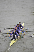 London, GREAT BRITAIN, during the Fullers Fours Head of the River Race, Raced over the reverse Championship Course, Mortlake to Putney. Saturday  [Date}. [Mandatory Credit. Peter Spurrier/Intersport Images] Rowing Course: River Thames, Championship course, Putney to Mortlake 4.25 Miles,