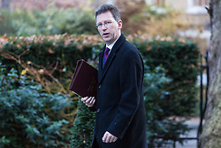 London, December 19 2017. Attorney General Jeremy Wright arrives at 10 Downing Street for the last cabinet meeting before the Christmas break. © Paul Davey