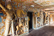 Mulkirigala Temple.<br /> Outer Logia of the caves of the fourth terrace.