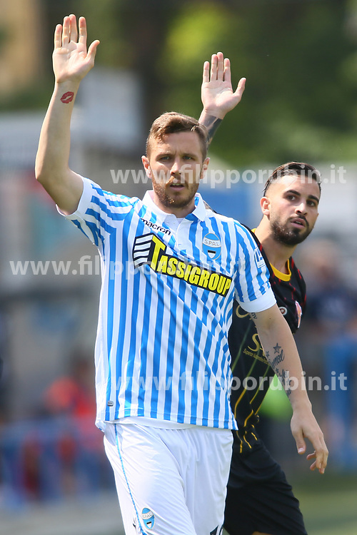 "Foto Filippo Rubin<br /> 06/05/2018 Ferrara (Italia)<br /> Sport Calcio<br /> Spal - Benvento - Campionato di calcio Serie A 2017/2018 - Stadio ""Paolo Mazza""<br /> Nella foto: JASMIN KURTIC (SPAL)<br /> <br /> Photo Filippo Rubin<br /> May 06, 2018 Ferrara (Italy)<br /> Sport Soccer<br /> Spal vs Benvento - Italian Football Championship League A 2017/2018 - ""Paolo Mazza"" Stadium <br /> In the pic: JASMIN KURTIC (SPAL)"