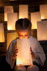 Repro Free: 25/20/2010 Siofra O'Sullivan (5) is pictured during a Candle of Hope ceremony to mark the launch of the Global Relay For Life European Summit which is being hosted by the Irish Cancer Society in Dublin today. Pic Andres Poveda..The Global Relay For Life European Summit is an international symposium focusing on how ?We Save Lives? through Relay For Life in communities across the globe. Relay For Life is a 24 hour community celebration event which sees teams of participants take to the track overnight to symbolise the fact that cancer never sleeps. The Irish Cancer Society was chosen this year to host the Summit, which is organised by the American Cancer Society, from the 25th-27th of October 2012....To find out more about Relay For Life, visit www.relayforlife.ie or call 1850 60 60 60. ..ENDS. .For further information, please contact:.Grainne O'Rourke / Órla Sheils.Communications, Irish Cancer Society.E: gorourke@irishcancer.ie / osheils@irishcancer.ie .T: 01 231 0546 / 01 231 055 / 087 9707709