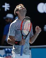 GRIGOR DIMITROV (BUL)<br /> <br /> Australian Open 2017 -  Melbourne  Park - Melbourne - Victoria - Australia  - 25/01/2017.