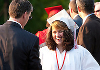 Laconia High School commencement ceremony June 10, 2011.