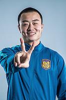 Portrait of Chinese soccer player Liu Wei of Jiangsu Suning F.C. for the 2017 Chinese Football Association Super League, in Nanjing city, east China's Jiangsu province, 27 February 2017.