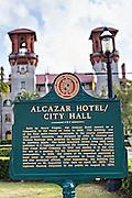 Lightner Museum in St. Augustine, Florida. The building was originally the Alcazar Hotel.