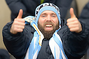 A big thumbs up from Coventry City's Jim O'Brien during the Sky Bet League 1 match between Coventry City and Bury at the Ricoh Arena, Coventry, England on 13 February 2016. Photo by Dennis Goodwin.