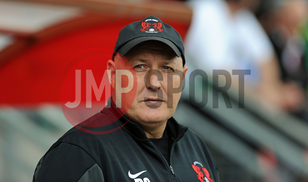 Leyton Orient Manager, Russell Slade - photo mandatory by-line David Purday JMP- Tel: Mobile 07966 386802 23/08/14 - Leyton Orient v Walsall - SPORT - FOOTBALL - Sky Bet Leauge 1 - London -  Matchroom Stadium