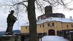 CZECH REPUBLIC VYSOCINA SVOJANOV 1JAN15 - Castle  Svojanov during the winter in Vysocina, Czech Republic.<br /> <br /> jre/Photo by Jiri Rezac<br /> <br /> © Jiri Rezac 2015
