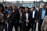 Anne Hidalgo Visits The Millennium Migrant Camp -  25 may 2018