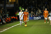Luton Town forward James Collins (19) on the ball during the EFL Sky Bet League 1 match between Luton Town and Burton Albion at Kenilworth Road, Luton, England on 22 December 2018.