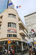 Institut Francais in Rothschild Boulevard, Tel Aviv, Israel