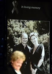 15-06-2013 ALGEMEEN: AFSCHEIDSBIJEENKOMST VISSER EN SEVEREIN: ALMERE<br /> Vandaag was de gelegenheid om afscheid te nemen van Ingrid Visser en Lodewijk Severein. Iedereen die zich verbonden voelde kon naar de openbare herdenking komen in het Topsportcentrum Almere <br /> ©2013-FotoHoogendoorn.nl