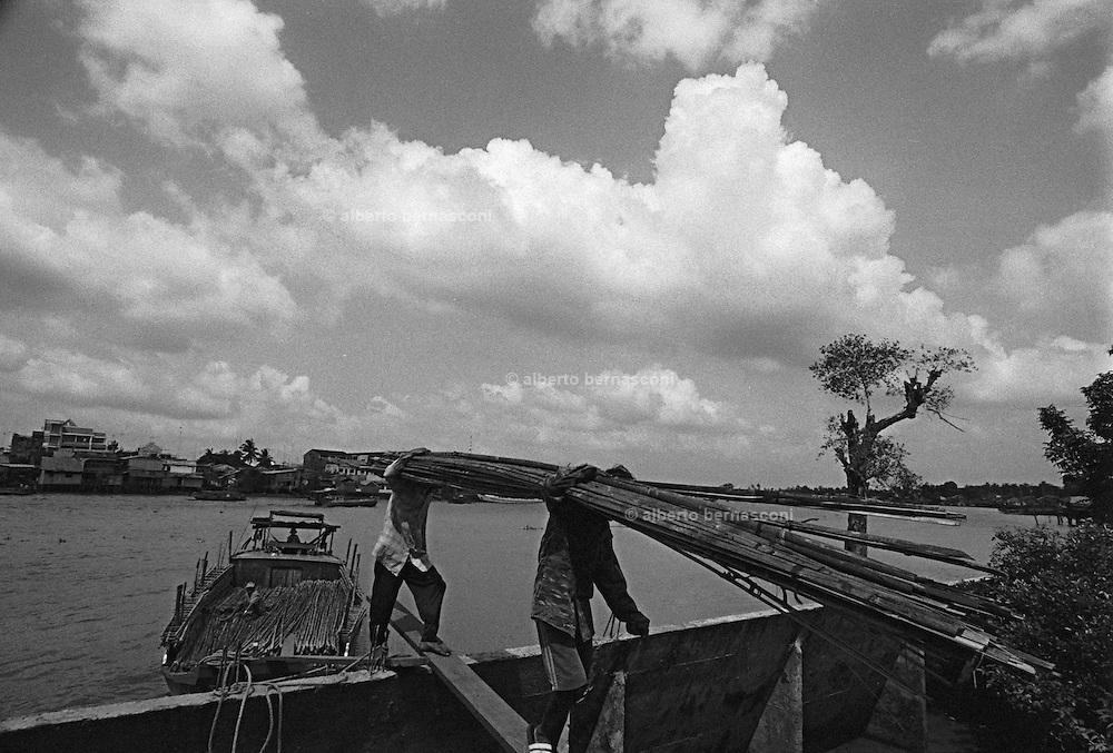 Vietnam, Can Tho: Mekong river.