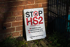 2020-01-21 Reoccupation of Stop HS2 Colne Valley protection camp continues