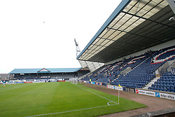 The South Stand and the Main Stand of Stark's Park, home to Raith Rovers FC since 1891..Raith Rovers 1 v 0 Falkirk, 6th August 2011..©Pic : Michael Schofield.