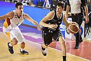 DESCRIZIONE : Roma Lega A 2014-15 Acea Roma Granarolo Bologna<br /> GIOCATORE : Matteo Imbro<br /> CATEGORIA : palleggio sequenza<br /> SQUADRA : Granarolo Bologna <br /> EVENTO : Campionato Lega A 2014-2015<br /> GARA : Acea Roma Granarolo Bologna<br /> DATA : 04/01/2015<br /> SPORT : Pallacanestro <br /> AUTORE : Agenzia Ciamillo-Castoria/GiulioCiamillo<br /> Galleria : Lega Basket A 2014-2015<br /> Fotonotizia : Roma Lega A 2014-15 Acea Roma Granarolo Bologna
