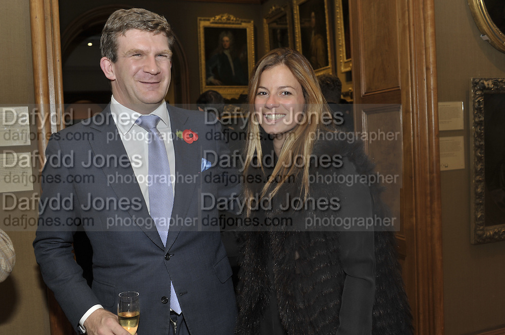 PEREGRINE HOOD; SERENA NIKKHAH, Rothschild Wealth Management & Trust  and David Campbell  host a party to celebrate the publication of <br /> 'Made in Britain' -The Men and Women Who Shaped the Modern World by Adrian Sykes. National Portrait Gallery. London. 9 November 2011 <br /> <br /> <br />  , -DO NOT ARCHIVE-© Copyright Photograph by Dafydd Jones. 248 Clapham Rd. London SW9 0PZ. Tel 0207 820 0771. www.dafjones.com.