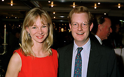 The EARL & COUNTESS OF DERBY at a party in London on 5th June 1997.LYZ 37