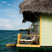 Punta Caracol Hotel, is Bocas del Toro, Panama.  Punta Caracol is consider one of the bests hotels on stills in the world.