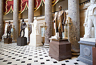 The Samuel Jordan Kirkwood statue (second on right) in National Statuary Hall in the United States Capitol building in Washington, D.C. on Thursday, June 23, 2011.