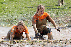 ©Licensed to London News Pictures. 13/05/2012.Boughton House, Northants. Tough Mudders face the mud during 12 mile endurance challenge..Photo credit: Steven Prouse/ LNP