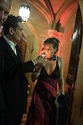 MIKE PENN; TARAN DAVIES; NATALIE MUNK, The Secret Winter Gala in aid of Save the Children and sponsored by Bulgari. Guildhall. London. 26 November 2013