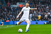 Leeds United defender Luke Ayling (2) in action during the EFL Sky Bet Championship match between Leeds United and Queens Park Rangers at Elland Road, Leeds, England on 2 November 2019.
