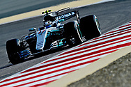 Valtteri Bottas of Mercedes AMG Petronas during the Bahrain Formula One Grand Prix Qualifying session at the International Circuit, Sakhir<br /> Picture by EXPA Pictures/Focus Images Ltd 07814482222<br /> 15/04/2017<br /> *** UK &amp; IRELAND ONLY ***<br /> <br /> EXPA-EIB-170415-0278.jpg