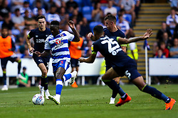 Andy Yiadom of Reading runs with the ball - Mandatory by-line: Robbie Stephenson/JMP - 03/08/2018 - FOOTBALL - Madejski Stadium - Reading, England - Reading v Derby County - Sky Bet Championship
