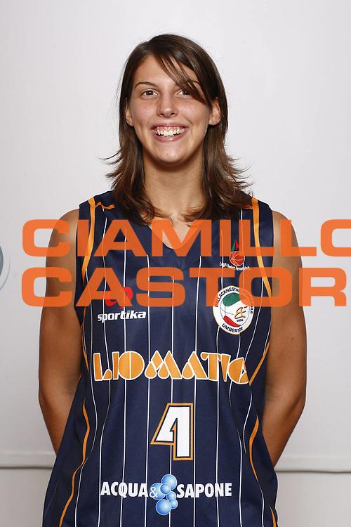 DESCRIZIONE : Napoli Palavesuvio LBF Opening Day Liomatic Umbertide<br /> GIOCATORE : Chiara Consolini<br /> SQUADRA : Liomatic Umbertide<br /> EVENTO : Campionato Lega Basket Femminile A1 2009-2010<br /> GARA : Liomatic Umbertide<br /> DATA : 10/10/2009 <br /> CATEGORIA : ritratto<br /> SPORT : Pallacanestro <br /> AUTORE : Agenzia Ciamillo-Castoria/E.Castoria<br /> Galleria : Lega Basket Femminile 2009-2010<br /> Fotonotizia : Napoli Palavesuvio LBF Opening Day Liomatic Umbertide<br /> Predefinita :
