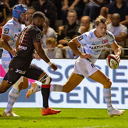 Juan Imhoff of Racing 92 during Top 14 match between Toulon and Racing 92 on August 25, 2018 in Toulon, France. (Photo by Henri/Icon Sport)