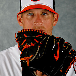 March 1, 2012; Sarasota, FL, USA; Baltimore Orioles relief pitcher Troy Patton (40) poses for a portrait during photo day at the spring training headquarters.  Mandatory Credit: Derick E. Hingle-US PRESSWIRE